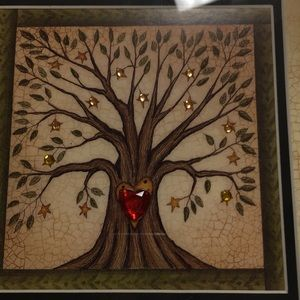Wall Art - Everything Grows With Love Framed Wall Art
